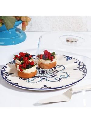 BLUE KEK FANUS+SPATULA (KROM SAP)
